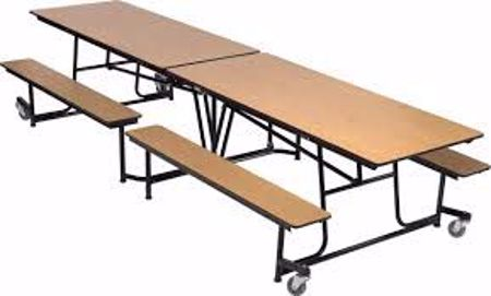 Picture for category Mobile Cafeteria Tables