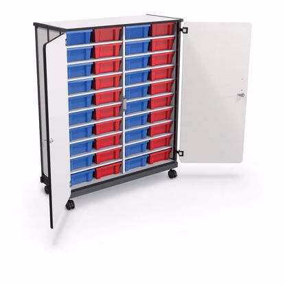 Picture of Mobile Tub Storage Cart (40 tub cart)