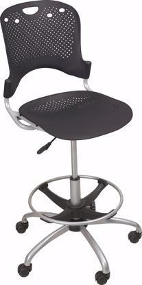 Picture of CIRCULATION STOOL (Black) (1/carton)