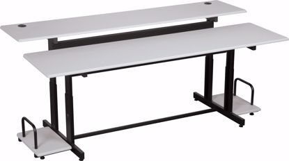 """Picture of SPLIT LEVEL - 72  (Gray)  72""""W - Master"""