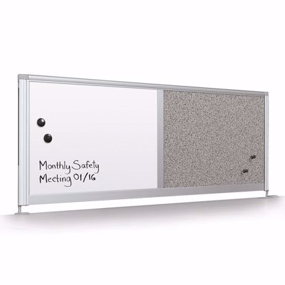 "Picture of Desktop Privacy Panel - 32"" Porcelain"