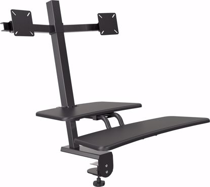 Picture of Desk Mounted Sit/Stand Workstation - Dual Monitor