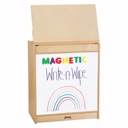 Picture of Jonti-Craft® Big Book Easel - Magnetic Write-n-Wipe