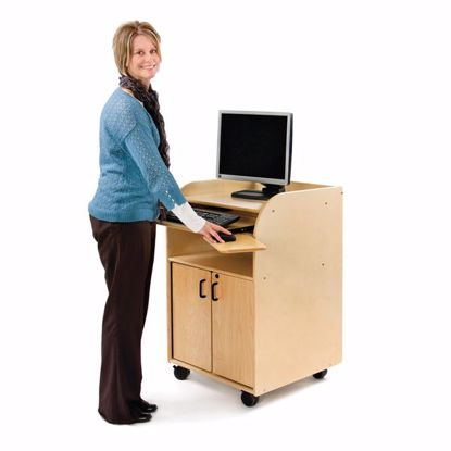 Picture of Jonti-Craft® Mobile Technology Stand - Deluxe