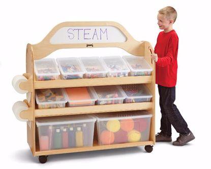 Picture of Jonti-Craft® STEAM Multimedia Cart