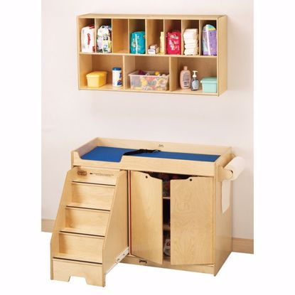 Picture of Jonti-Craft® Changing Table - with Stairs Combo - Left