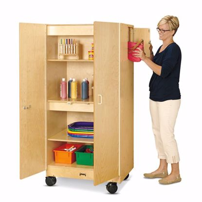 Picture of Jonti-Craft® Hideaway Storage Cabinet – Mobile