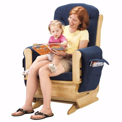 Picture of Jonti-Craft® Glider Rocker - Blue Cushions
