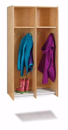 Picture of Jonti-Craft® 2 Section Hanging Locker - without Tubs