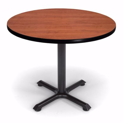 Picture of 36 INCH ROUND CHERRY TOP/ BLK XT BASE