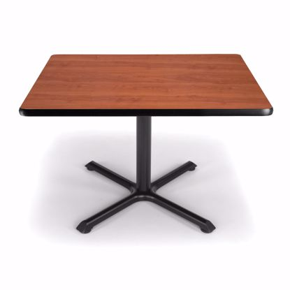 Picture of 36 INCH SQUARE CHERRY TOP/ BLK XT BASE