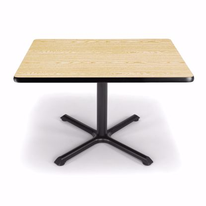 Picture of 36 INCH SQUARE OAK TOP/ BLK XT BASE