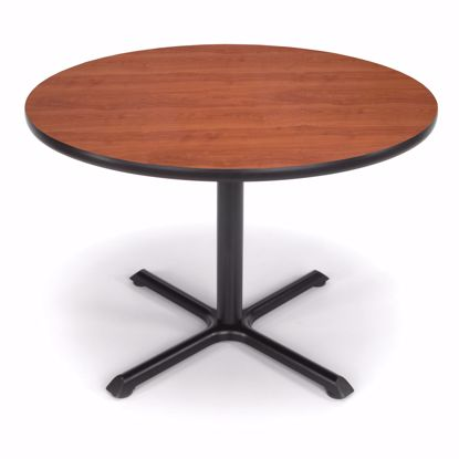 Picture of 42 INCH ROUND CHERRY TOP/ BLK XT BASE