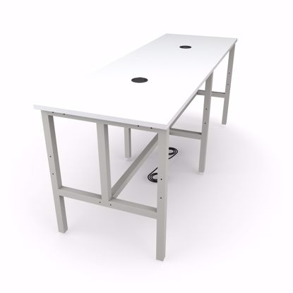 Picture of ENDURE 9008 TABLE ONLY GRAY FRAME WHT TOP