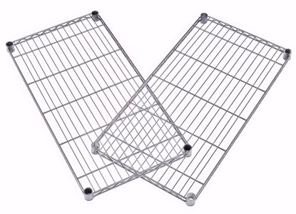 Picture of 2 PACK WIRE SHELF 48 X 18 - SILVER