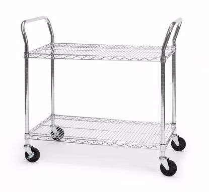 Picture of 18 X 36 HEAVY DUTY MOBILE MEDIA CART