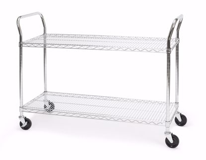 Picture of 18 X 48 HEAVY DUTY MOBILE MEDIA CART
