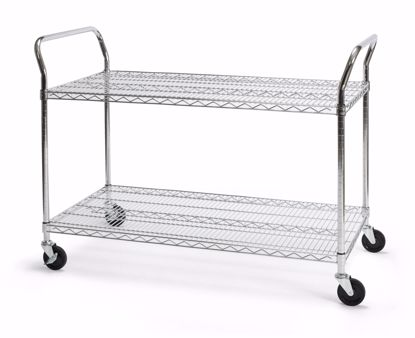 Picture of 24 X 48 HEAVY DUTY MOBILE MEDIA CART