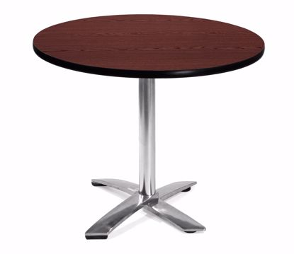 Picture of FLIP TOP 36 INCH ROUND TABLE - MAHOGANY