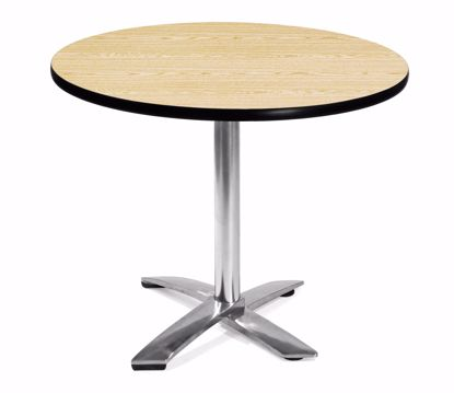 Picture of FLIP TOP 36 INCH ROUND TABLE - OAK