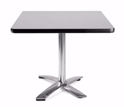 Picture of FLIP TOP 36 INCH SQUARE TABLE - GRAY NEBULA
