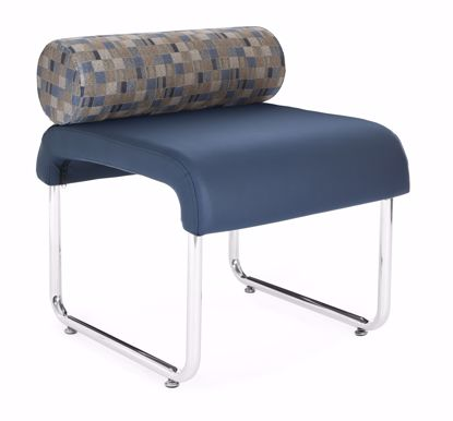 Picture of UNO PILLOW BACK SEAT BLUE JAY PU NAVY