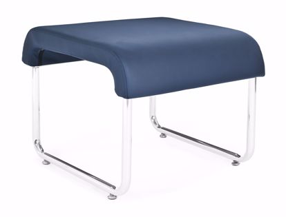 Picture of 2 PACK UNO BACKLESS SEAT - PU NAVY