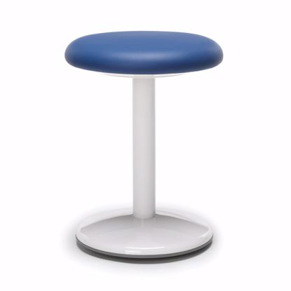 "Picture of ORBIT ACTIVE STOOL 18"" HIGH BLUE VINYL"