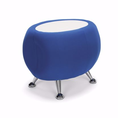 Picture of JUPITER TABLE 2336-BLUE W/ WHITE TOP