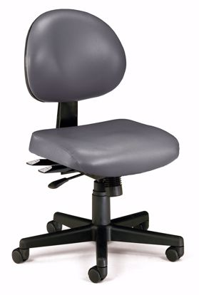 Picture of 24/7 TASK CHAIR IN CHARCOAL VINYL AM