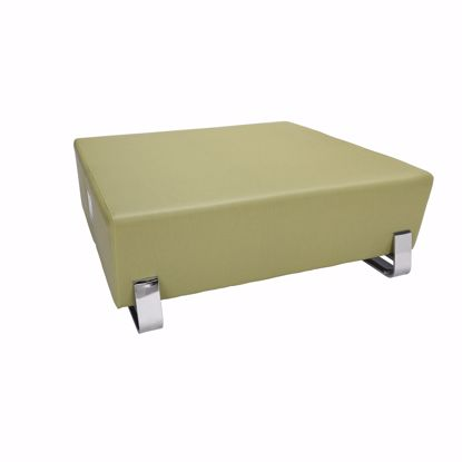 Picture of 4004C SQUARE USB BENCH LEAF WITH CHROME FRAME