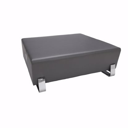Picture of 4004C SQUARE USB BENCH SLATE W/ CHROME FRAME