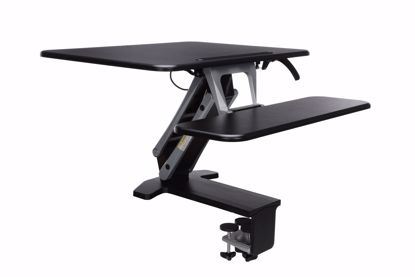 Picture of SIT TO STAND SMALL WORKSTATION BLACK