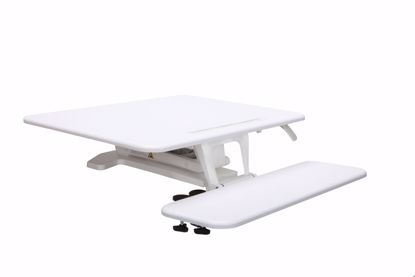 Picture of SIT TO STAND SMALL WORKSTATION WHITE
