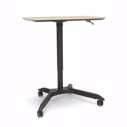 Picture of MESA HEIGHT ADJUSTABLE MOBILE PODIUM MAPLE