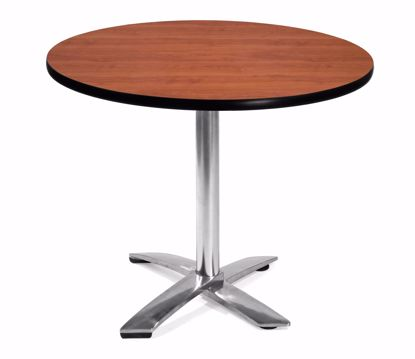 Picture of FLIP TOP 36 INCH ROUND TABLE - CHERRY