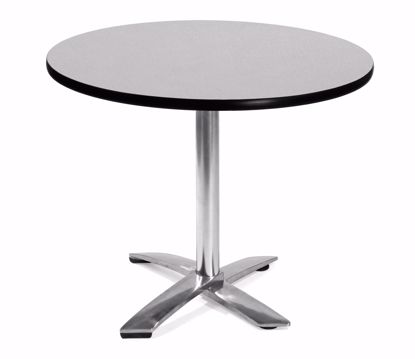 Picture of FLIP TOP 36 INCH ROUND TABLE - GRAY NEBULA