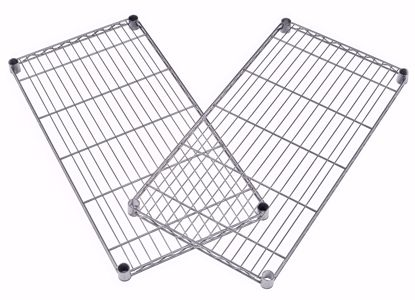 Picture of 2 PACK WIRE SHELF 36 X 24 - SILVER