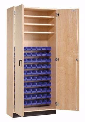 Picture of PARTS STORAGE CABINET - 80 BINS