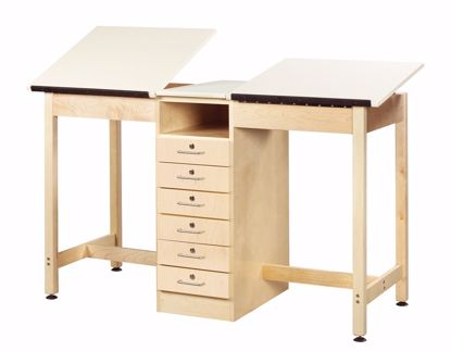 Picture of 2 STATION DRAFTING TABLE - ADJUSTAB