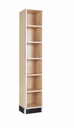 Picture of CUBBY CABINET,MAPLE,6 EQUAL OPENINGS