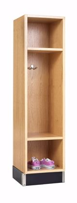 Picture of BACKPACK CABINET,OAK,1 OPENING