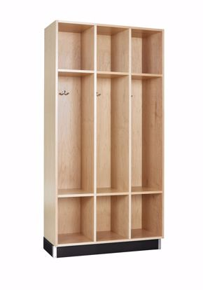 Picture of BACKPACK CABINET,MAPLE,3 OPENINGS