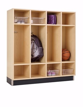 Picture of BACKPACK CABINET,MAPLE,4 OPENINGS