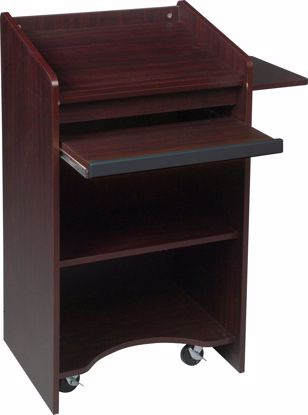 Picture of FLOOR LECTERN (Mahogany)