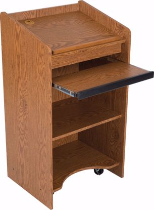 Picture of FLOOR LECTERN (Oak)