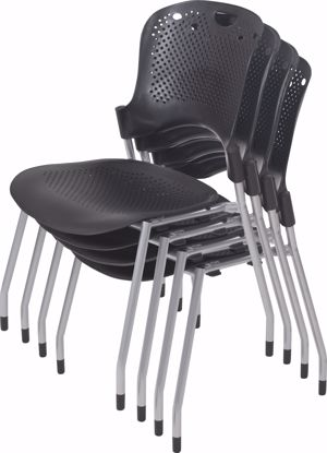 Picture of CIRCULATION STACK CHAIR (Black) (4/carton) ** (Priced as 4)