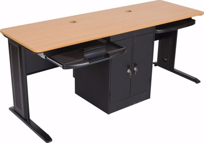 Picture of LX-72 WITH LOCKING CPU HOLDER (Teak)