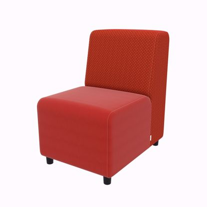 Picture of Linear Armless Chair- 22Lx31Dx35H- 4 Legs, Glides, or Casters - Fomcore Linear Armless Series