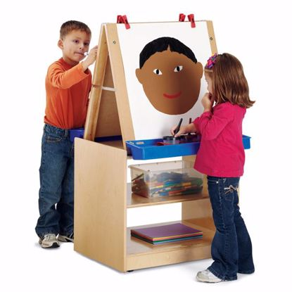 Picture of Jonti-Craft® 2 Station Easel - ThriftyKYDZ®